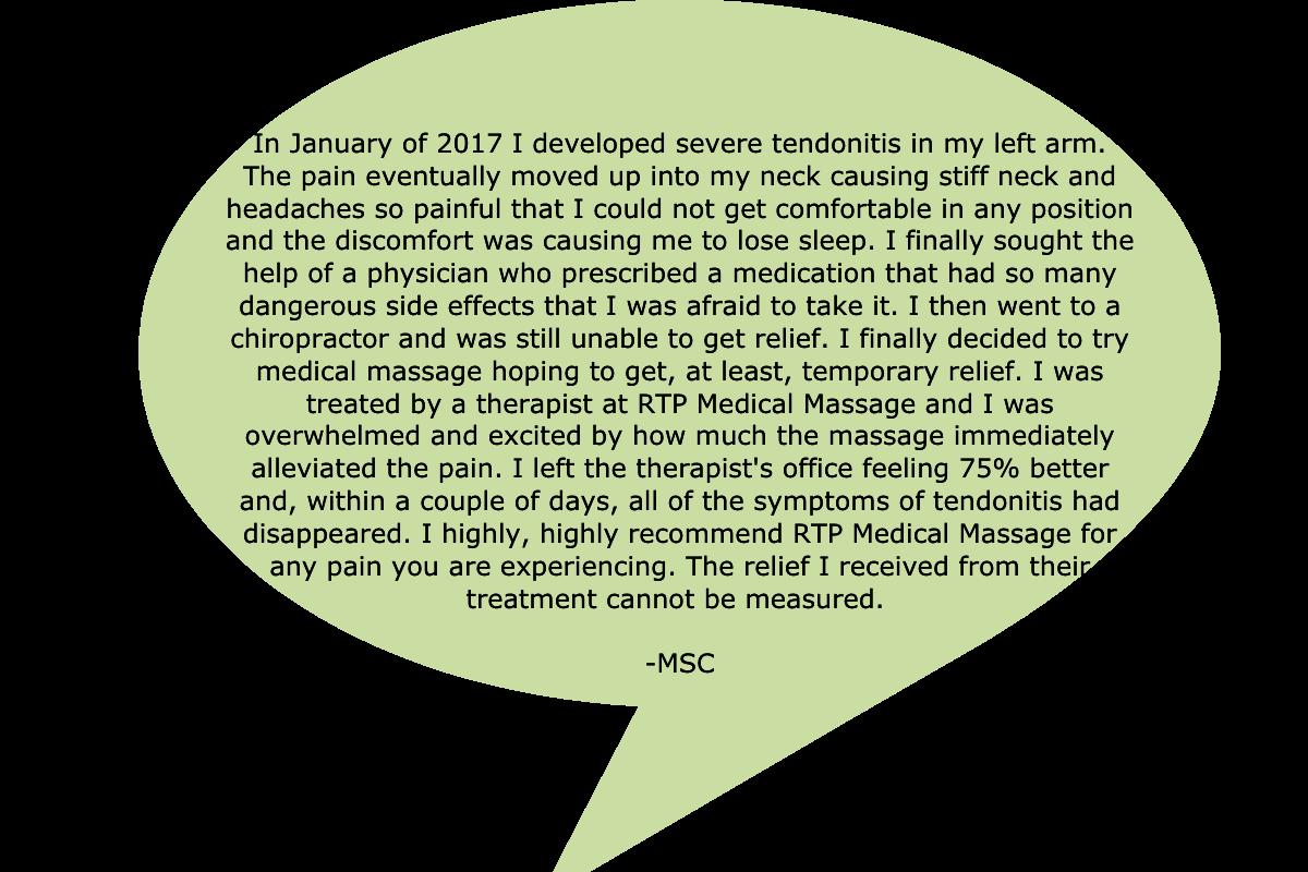 RTP Testimonial MSC